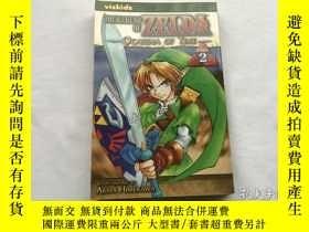 二手書博民逛書店英文漫畫原版書罕見The Legend of Zelda, Vol. 2 : Akira HimekawaY8
