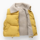 冬季嬰兒童羽絨棉馬甲加厚男童女童潮外穿洋氣馬夾加絨寶寶潮背心 小山好物