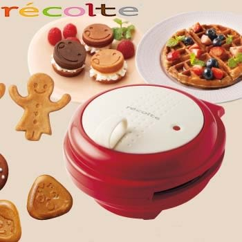 recolte RSM-1《紅色限量版》鬆餅機  超好吃鬆餅 輕鬆DIY 0利率 免運