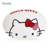 日本限定 三麗鷗 凱蒂貓 HELLO KITTY 大臉版 陶瓷 咖哩碗 / 餐盤