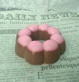 藝術手工皂_草莓巧克力多拿滋