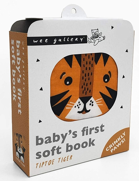 Baby's First Soft Book:TipToe Tiger 老虎的探險布書