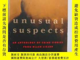 二手書博民逛書店Unusual罕見suspects (an anthology