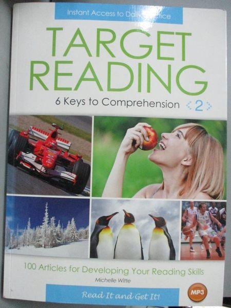 【書寶二手書T1/語言學習_QLF】Target Reading(2)_Michelle Witte
