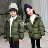 男童外套 冬季新款兒童棉襖女童棉衣男童冬裝中大童加厚羽絨棉服韓版外套潮 俏腳丫