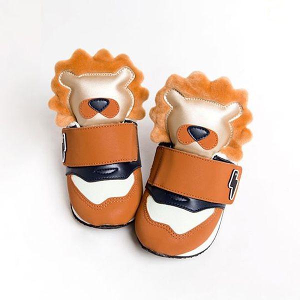 HUGHUG 動物鞋/童鞋/運動鞋 Wild Animal~獅子