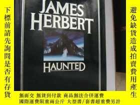 二手書博民逛書店Haunted罕見(A HORROR FICTION) 恐怖小說