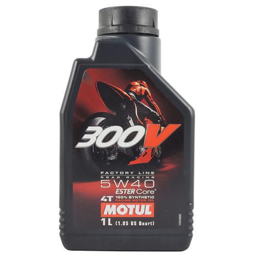 【MOTUL】300V 4T 5W40 FACTORY LINE 酯類 全合成機油