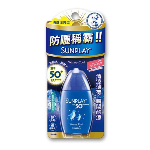 MENTHOLATUM曼秀雷敦 SUN PLAY防曬乳液-清透涼爽型 31ml【屈臣氏】