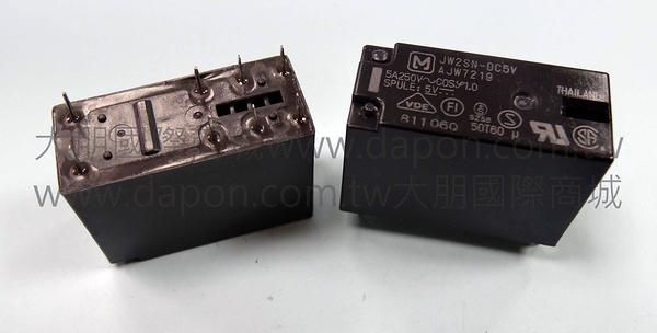 *大朋電子商城*Panasonic JW2SN-DC5V 繼電器Relay(5入)