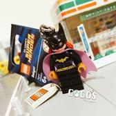 LEGO 樂高鑰匙圈 DC英雄 黑暗騎士蝙蝠俠 貓女 人偶鑰匙圈 鎖圈 吊飾 COCOS FG280