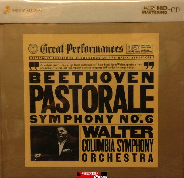 """停看聽音響唱片】【CD】BEETHOVEN.""""PASTORALE"""" SYMPHONY.WALTER"""