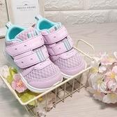 《7+1童鞋》小童 日本月星 MOONSTAR 透氣網布 機能鞋 運動鞋 學步鞋 E414 紫色