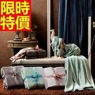毛毯子冬款明星同款-法蘭絨純色簡約加厚小毯被5色64d8【時尚巴黎】