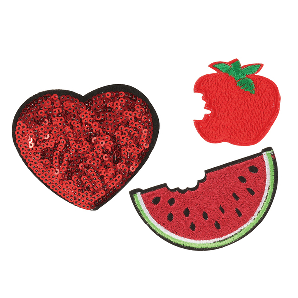 STICKY PATCH DIY水果紡織布貼