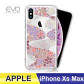 iPhone Xs Max 6.5吋 手機殼 奧地利水鑽 立體彩繪 空壓殼 彩鑽 手工貼鑽 防摔殼 多鑽版 - 櫻花遍地
