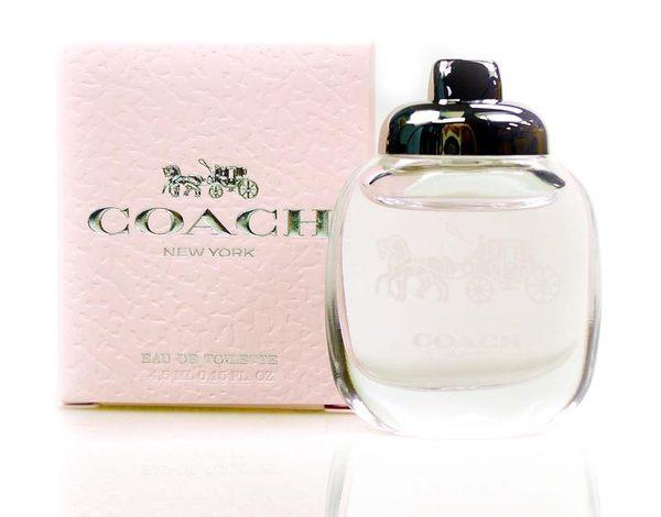 COACH 時尚經典女性小香水4.5ml ◆86小舖 ◆