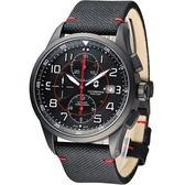 Victorinox 維氏 Airboss Black Edition 自動上鏈機械計時碼錶 VISA-241721