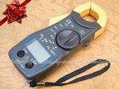 ~DD225 ~鉗夾式 電流勾表HL 9001  電錶可量直流交流~EZGO 商城~
