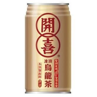 開喜 凍頂烏龍茶-有糖 340ml