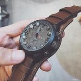 中國警運動手錶男潮流韓版個性學生抖音特種兵大錶盤男士超大潮男 一米陽光