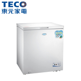 【TECO東元】138公升上掀式單門冷凍櫃RL1417W