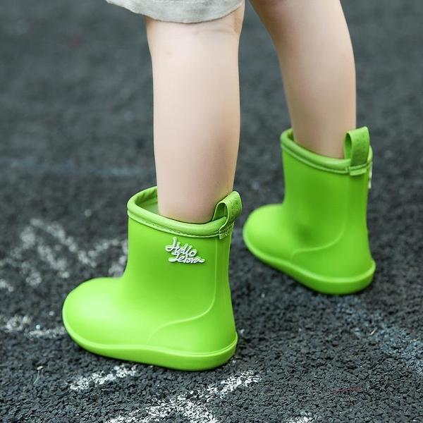 雨鞋 兒童雨鞋1-5歲寶寶雨靴