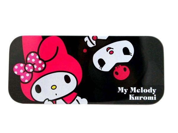 【卡漫城】 美樂蒂 & 酷洛米 鉛筆盒 ㊣版 單層 馬口鐵 Melody Kuromi
