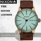 NIXON 實體店THE SENTRY LEATHER腕錶A105-2223公司貨/極限運動/重金屬/工業風
