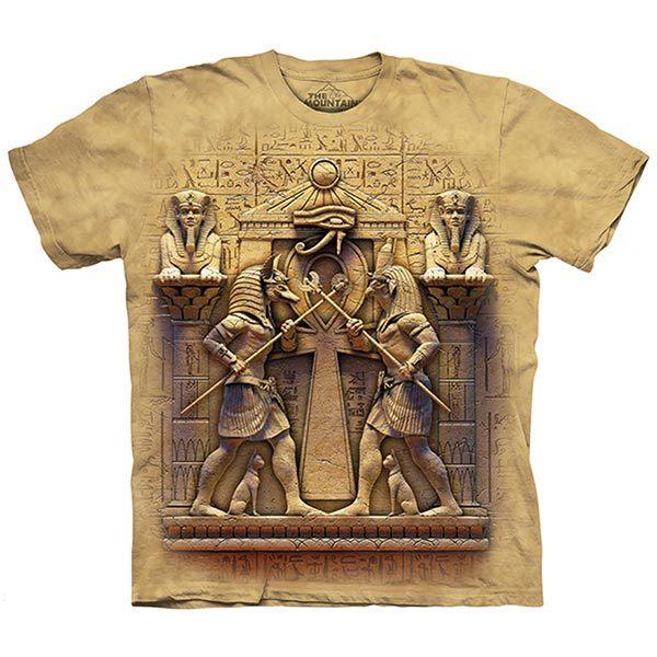 【摩達客】(預購)美國進口The Mountain 永恆對決 純棉環保短袖T恤(10415045103)