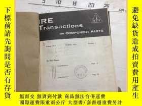 二手書博民逛書店IRE罕見transationas on component p