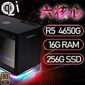 【南紡購物中心】華碩A1系列【mini天捷星】AMD R5 4650G六核 小型電腦(16G/256G SSD)《A1 PLUS》
