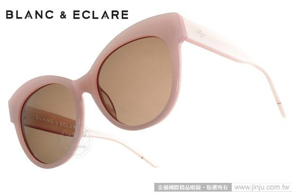 BLANC&ECLARE 太陽眼鏡 PARIS SH (粉紅) 潔西卡個人品牌 城市系列 -- 巴黎 # 金橘眼鏡