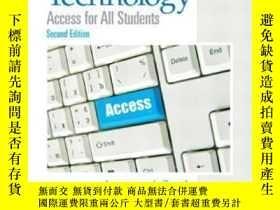 二手書博民逛書店Assistive罕見Technology: Access For All Students (2nd Editi