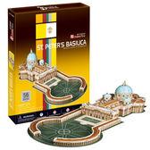 A1014【3D Puzzle 立體拼圖】世界建築精裝版-梵諦岡聖彼得大教堂
