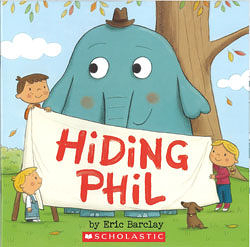【麥克書店】HIDING PHIL /英文繪本