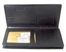 Deckese 黑色亮皮 - 真皮長夾 (貨號Do2-520)