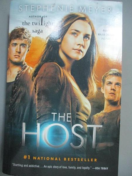 【書寶二手書T7/原文小說_MEP】The Host: A Novel_Meyer, Stephenie