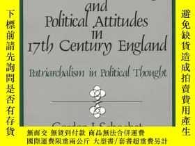 二手書博民逛書店The罕見Authoritarian Family And Political Attitudes In 17th