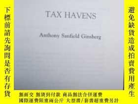 二手書博民逛書店英文原版罕見Tax Havens by Anthony Sanf