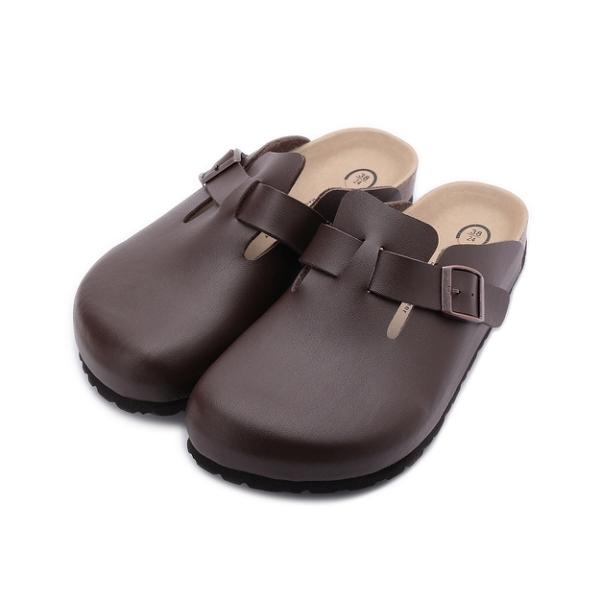 RIN RIN 寬版包頭拖鞋 咖 女鞋