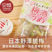 【豆嫂】日本零食 野澤脆梅 梅酒梅*新包裝