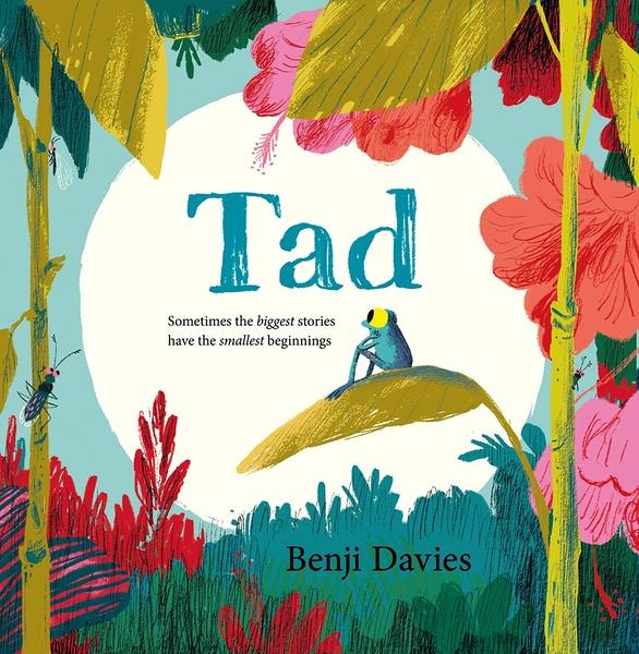【英國繪本】TAD by Benji Davies《主題: 自我認同.動物.溫馨情誼》
