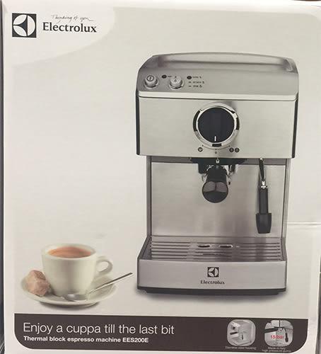 Electrolux 伊萊克斯 EES200E 半自動義式咖啡機 15bar