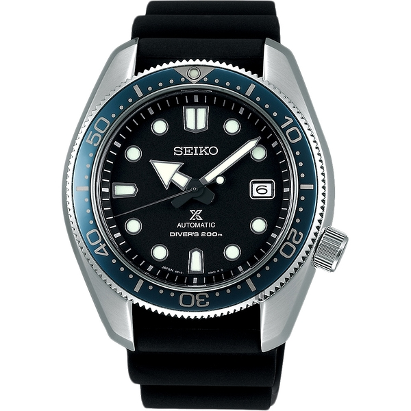 SEIKO 精工PROSPEX 200米潛水機械錶-黑/44mm 6R15-04G0X(SPB079J1)