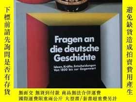 二手書博民逛書店英文原版書罕見Questions on German histo