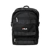 Fila Backpack [BPU-9000-BK] 後背包 大容量 工裝風 減壓背帶 透氣 輕量 黑
