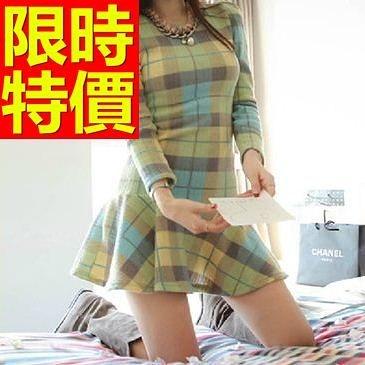 洋裝-長袖魅力閃亮耀眼韓版連身裙59m6[巴黎精品]