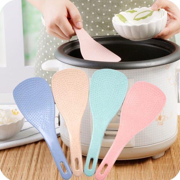 [拉拉百貨] 一般款 小麥飯匙 電鍋煲 盛飯勺子 麥香飯勺 環保小麥 米飯鏟 打飯杓 露營