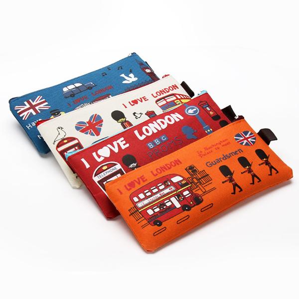 筆袋 文具袋 鉛筆盒 文具盒 帆布袋 倫敦衛兵造型 收納袋 置物袋 畢業禮物 開學 造型顏色隨機